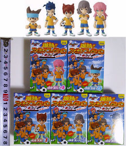 Soccer=Football, INAZUMA ELEVEN GO!, Mini Figure Collection DX Complete Set of 5