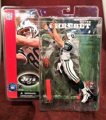 New York Jets Wayne Chrebet (CLEAN  UNIFORM) Mcfarlane NFL Series 2 Figure