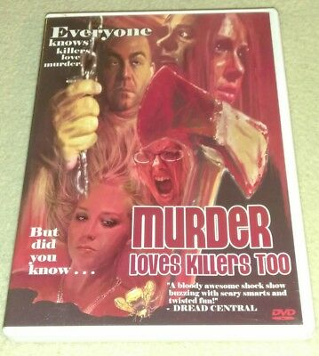 Murder Loves Killers Too (DVD *RARE oop *HORROR *HALLOWEEN](Halloween Murders)