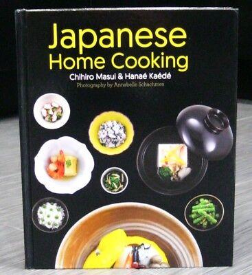 JAPANESE COOKBOOK RECIPE Home Cooking Japanese Food Chihiro Masui Hardcover EX