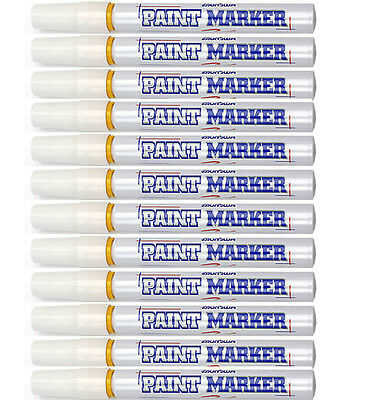 Industrial Paint Marker - Yellow 1 Lot Is 12