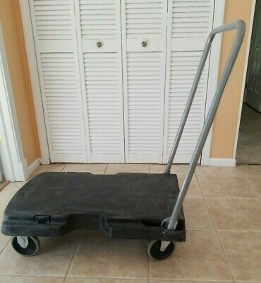 Rubbermaid Office Cartutility Cart 500 Lb Capacity Heavy Duty