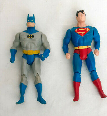Kenner Vintage 1984 Super Powers DC Batman and Superman Figures