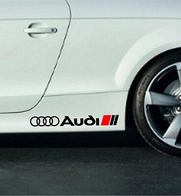 Audi A3 A4 A5 A6 A8 S4 S5 S6 RS4 S Line Q3 Q5 Q7 TT Decal sticker emblem logo B