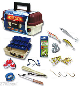 201pce MEGA FISHING ACCESSORIES VALUE PACK TACKLE KIT