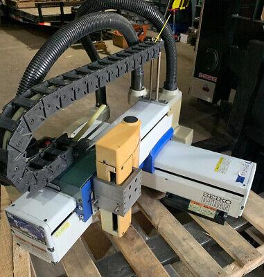 Seiko-seiki Xm3044-10ln D-tran Robot Assemblygood Condition Warranty