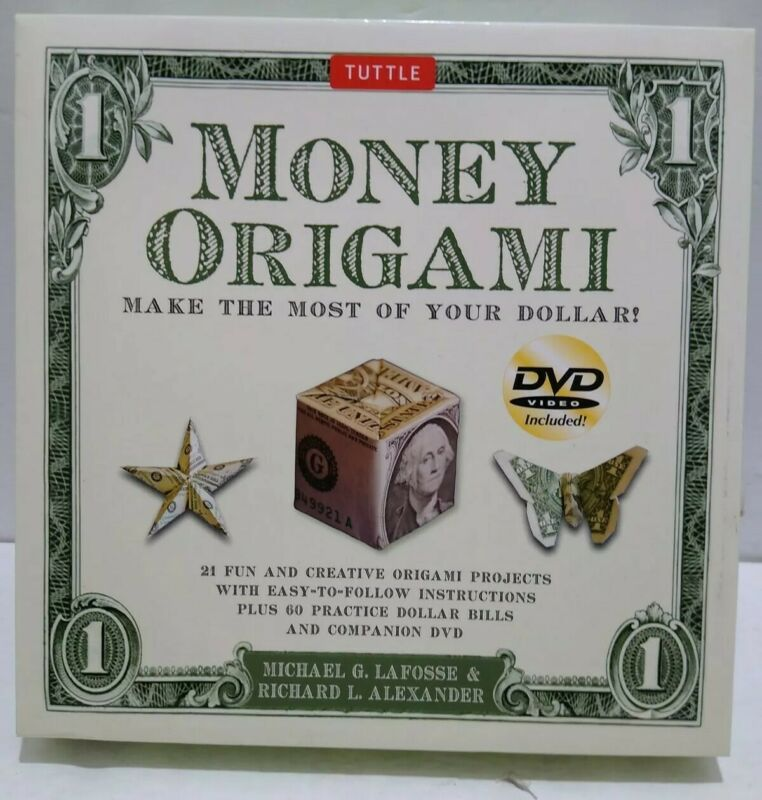 Tuttle Money Origami With DVD