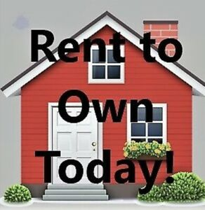 Rent To Own! Mortgage Company Said No? Contact Me Today!