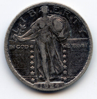 1924 P STANDING LIBERTY QUARTER SEE PROMO