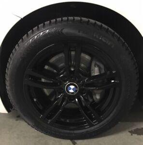 4 roues d'hiver BMW avec pneus Nokian Hakkapelita 8  (225/50R17)