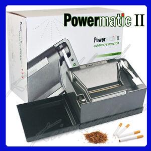 Brand-New-Powermatic-II-2-Electric-Cigarette-Injector-Rolling-Machine