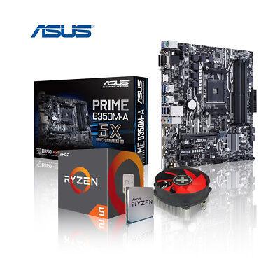 Aufrüst Kit Ryzen 5 2600 6x 3.4 GHz, ASUS PRIME B350M-A, 8GB DDR4 RAM