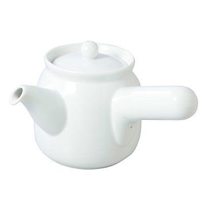 From Japan Muji Japanese Tea Pot for Green Tea 360ml Kyusu White Porcelains