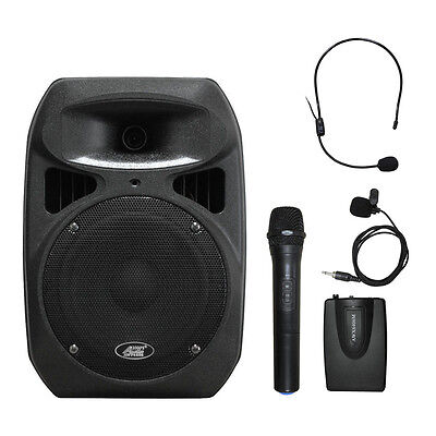Wireless Battery Powered Pa System - 6408BHL 8