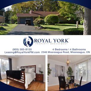 4 BED / 4 BATH - HOUSE FOR RENT @ MISSISSAUGA |FINISHED BASEMENT