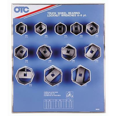 OTC TRUCK WHEEL BEARING LOCKNUT SOCKETS 6 point 8 point variation  3/4