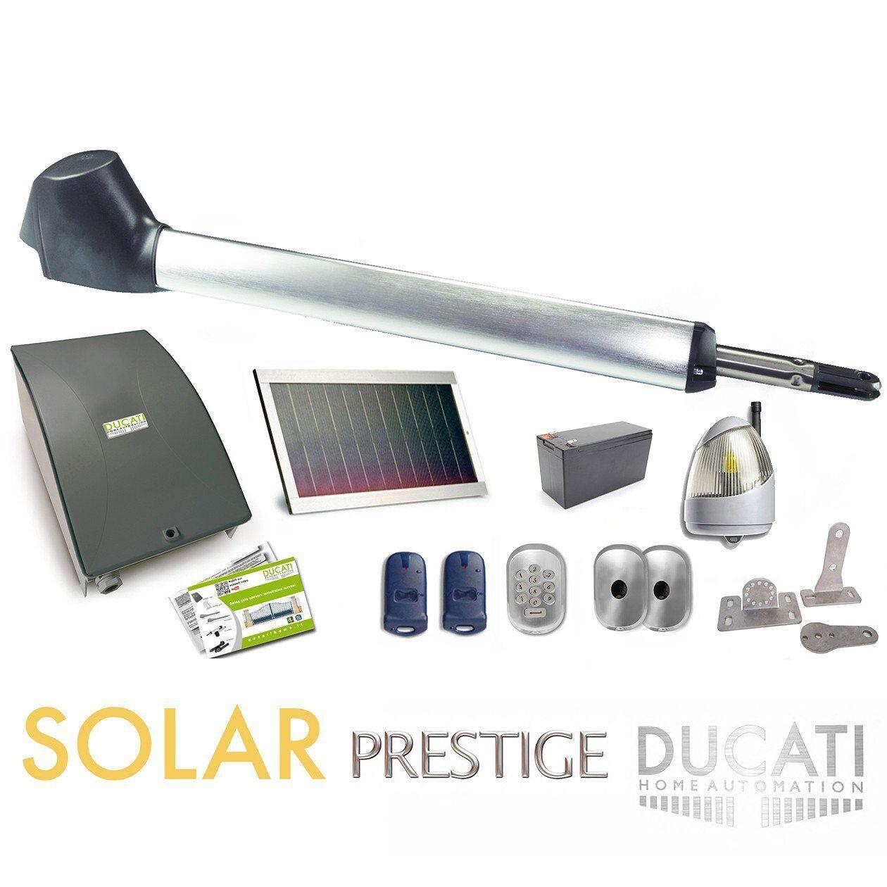 DUCATI EVO748T SOLAR MONO ideal for 1 wing gate 100% stand-alone