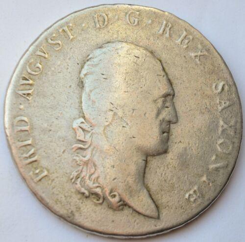 German States, Saxony, 1 Thaler Conventionsthaler - Friedrich August I