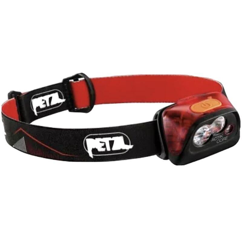 Petzl ACTIK CORE 450 Lumens Rechargeable Headlamp - ORANGE