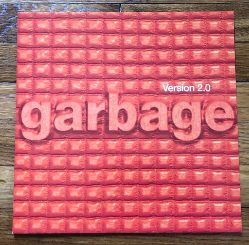 Garbage Version 2.0 RARE original promo 12 x 12 record album flat 1998