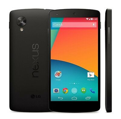 NEW 16GB LG GOOGLE NEXUS 5 BLACK D821 FACTORY UNLOCKED