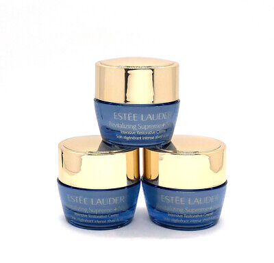 3 x Estee Lauder Revitalizing Supreme+Night Intensive Restorative Creme .24 oz