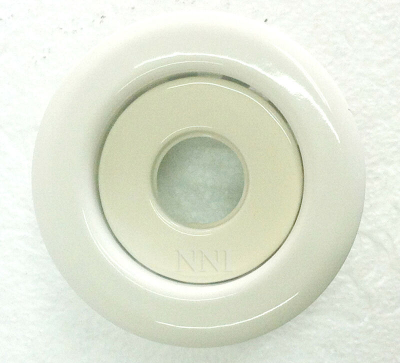 "3//4/""depth 100 Globe Fire Sprinkler Recessed Escutcheon White 1//2/"" IPS"