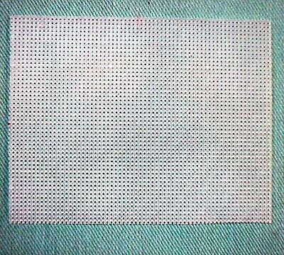 Twenty (20) Quarter Sheets of 7 or 10 mesh Plastic Canvas 7 Mesh Plastic Canvas