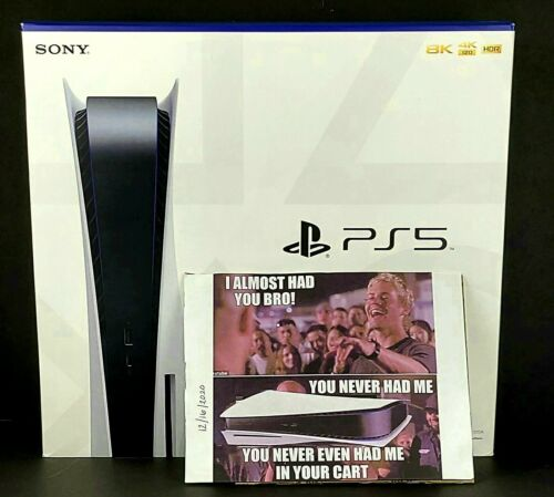 NEW Sony PS5 Disc Edition Console - White In Hand Ships Next Day Playstation 5