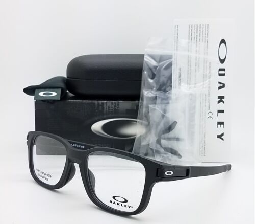 NEW Oakley Latch SS RX Eyeglasses Frame Satin Black OX8114-0150 AUTHENTIC 50mm
