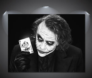 The-Joker-Heath-Ledger-Black-White-Poster-A0-A1-A2-A3-A4-Sizes