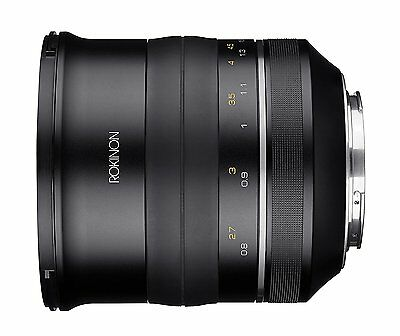 Rokinon Special Performance (SP) 85mm f/1.2 High Speed Lens for Canon EF