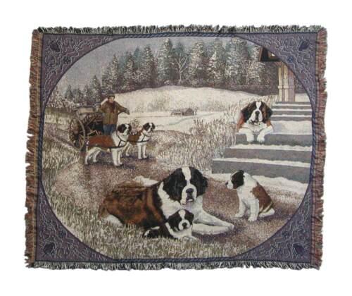 Saint Bernard Throw/blanket