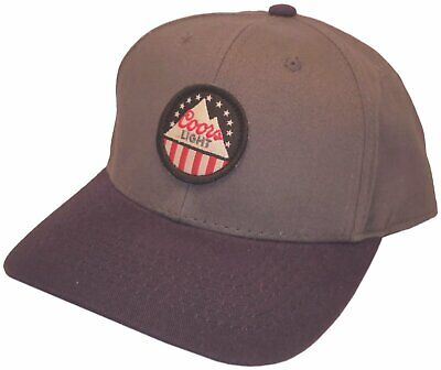 Hat With Light (Coors Light Hat With Adjustable Strap Official Licensed New With)