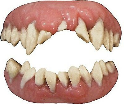 Halloween Monster Smile (TINSLEY FX MONSTER TEETH ADULT ACCESSORY HALLOWEEN COSTUME SCARY SMILE)