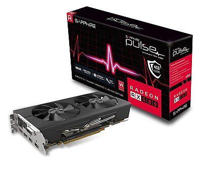 Sapphire Radeon PULSE RX 580 4GB GDDR5 (UEFI) PCI-E Graphics Card 11265-09-20G