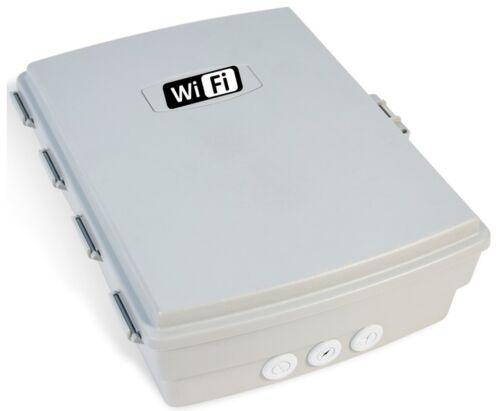 Outdoor Waterproof Enclosure Nema Box Cabinet w/ Wifi Label - Router Bridges