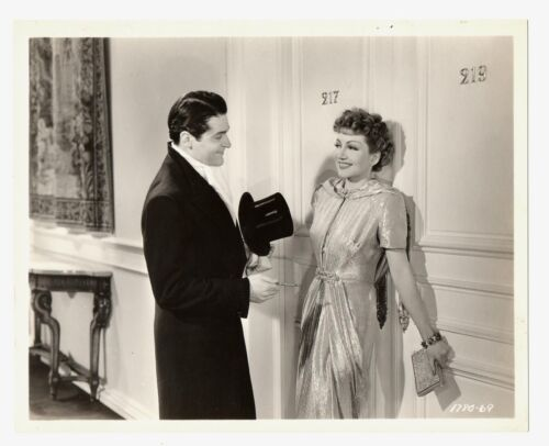 Claudette Colbert 1939 Midnight Original 8x10 Francis Lederer DBW
