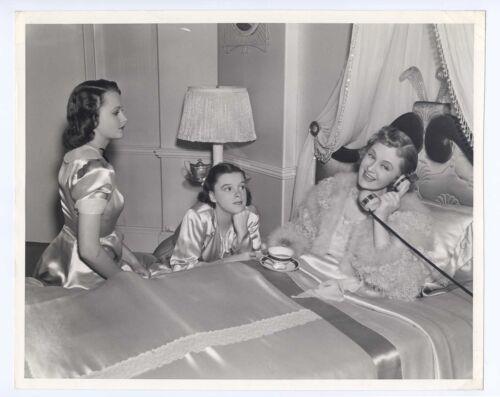Judy Garland 1938 Everybody Sing 8x10 Original Billie Burke Lynne Carver