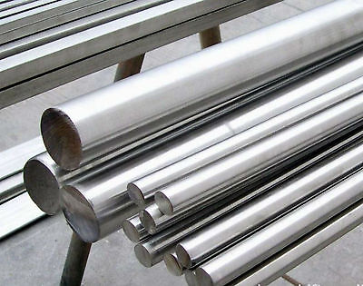1pc 304 Stainless Steel Cylinder Rods Diameter 30mm Length 0.5m 1.64 Ft Gy