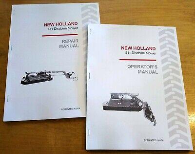 New Holland 411 Discbine Mower Conditioner Operators And Servicerepair Manual
