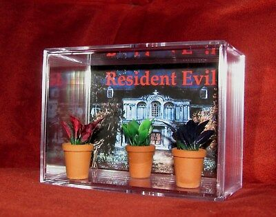L@@K~~Resident Evil(inspired By)RED,BLUE & GREEN HERB..BRAND NEW DISPLAY.