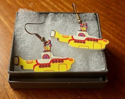 Yellow Submarine - Collectible - Earrings
