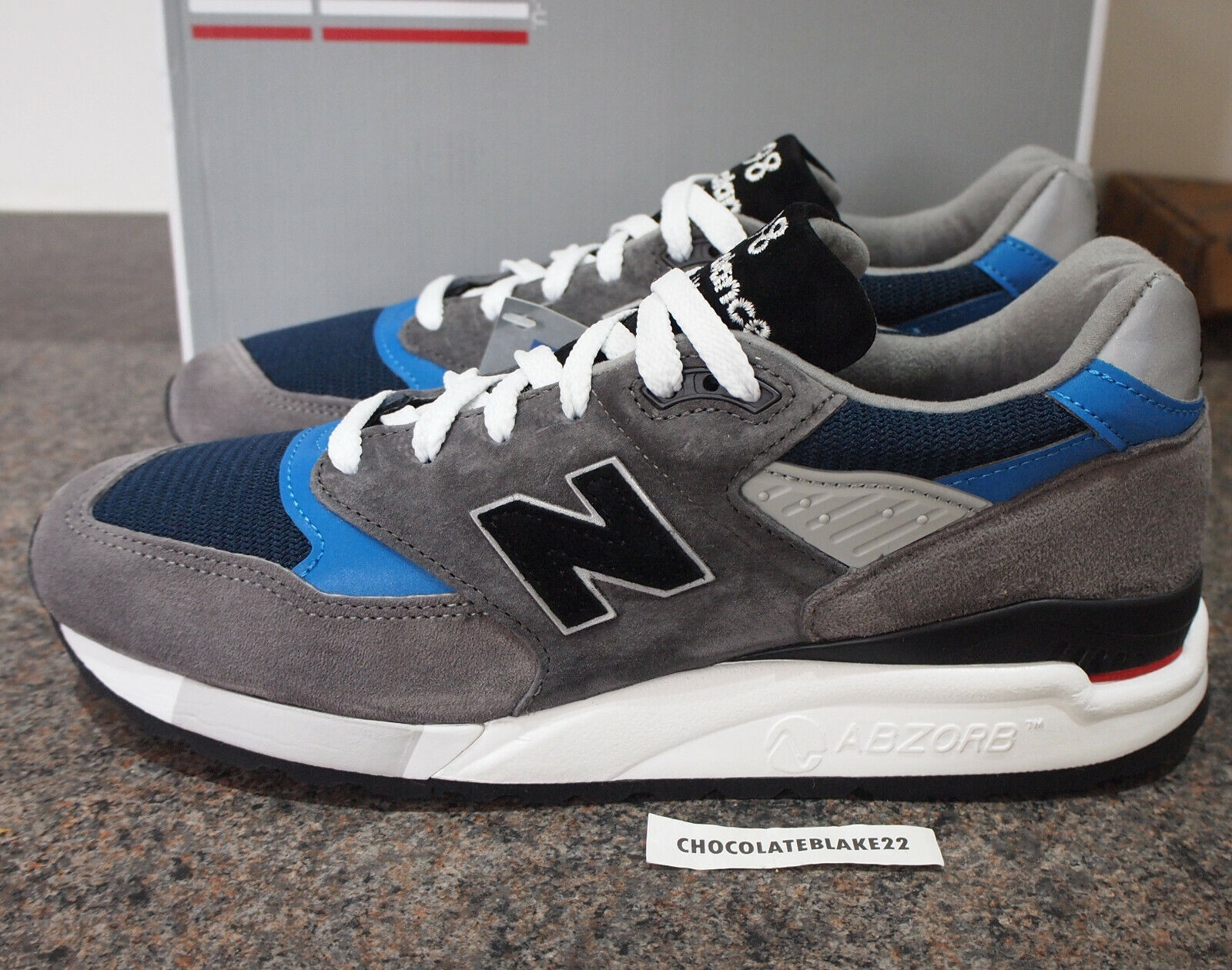 New Balance M998NF UK 9 998 992 990 Made In the USA