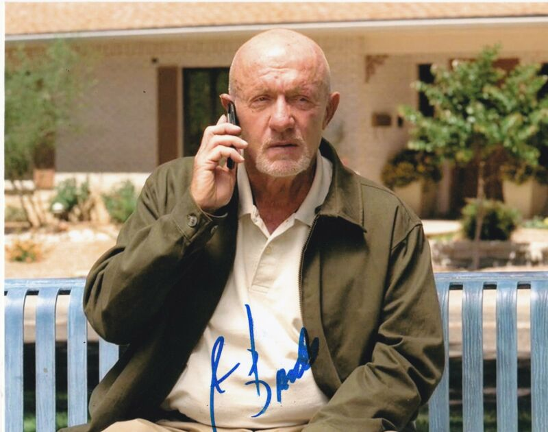 JONATHAN BANKS SIGNED 8X10 PHOTO BREAKING BAD BETTER CALL SAUL AUTO PROOF COA B