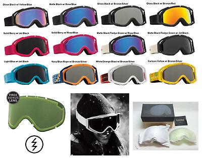 NEW Electric Rig.5 mens womens ski snowboard goggles + lens (Womens Electric Goggles)