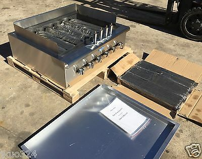 New Radiant Char Broiler Gas Grill 36 120000 Btu