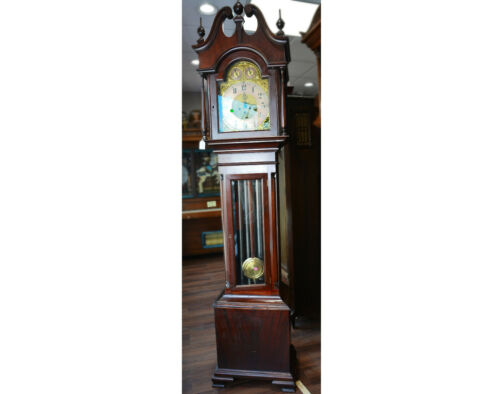 c008 1910 or 1915 American Tall Case Grandfather Clock- Local Pickup Only
