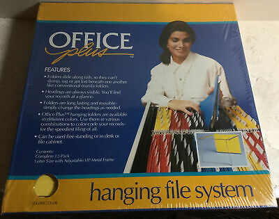Office Plus Hanging File System - Brand New In Box 12-pk W 18 Frame 77616