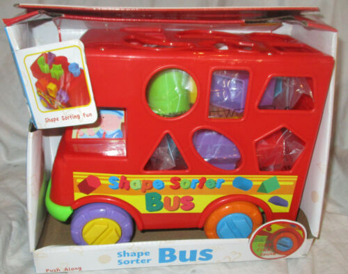 Funtime Shape Sorter Bus NEW